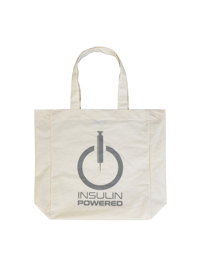 Powered by Insulin bag